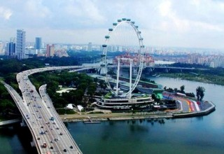 Singapore Flyer: a maior roda gigante do mundo
