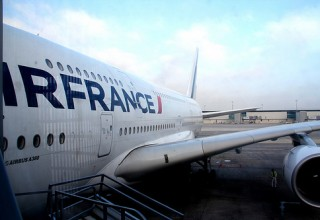 Como é voar na classe executiva do Airbus A380 da Air France