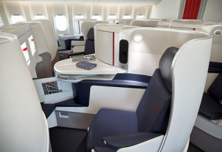 Novas cabines Premium Economy e Business da Air France